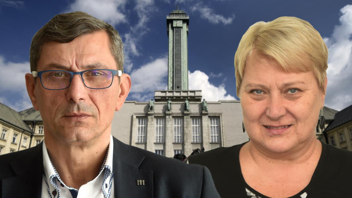 Zdeněk Nytra a Liana Janáčková