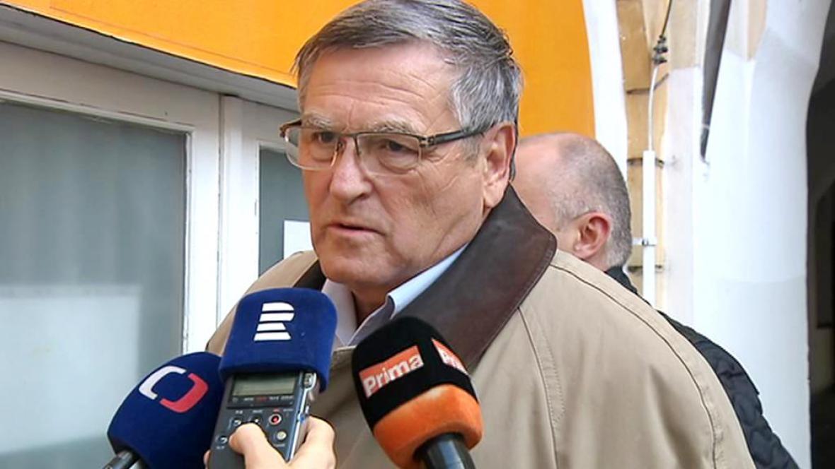 Hejtman Vysočiny Jiří Běhounek (za ČSSD)