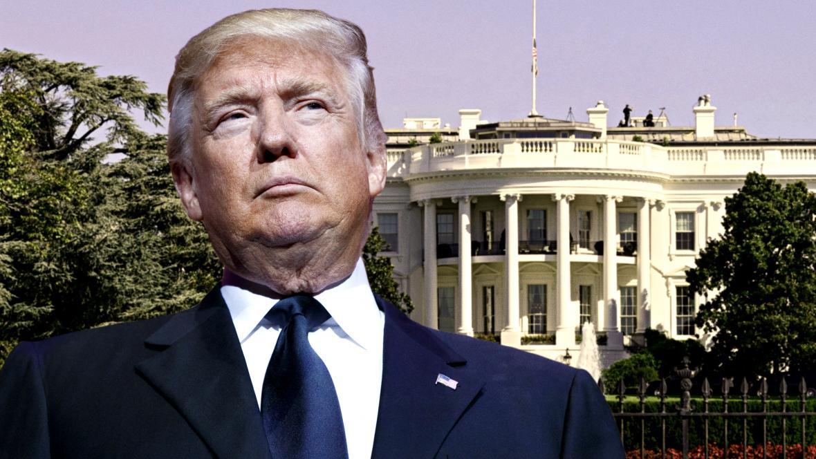 Donald Trump a Bílý dům
