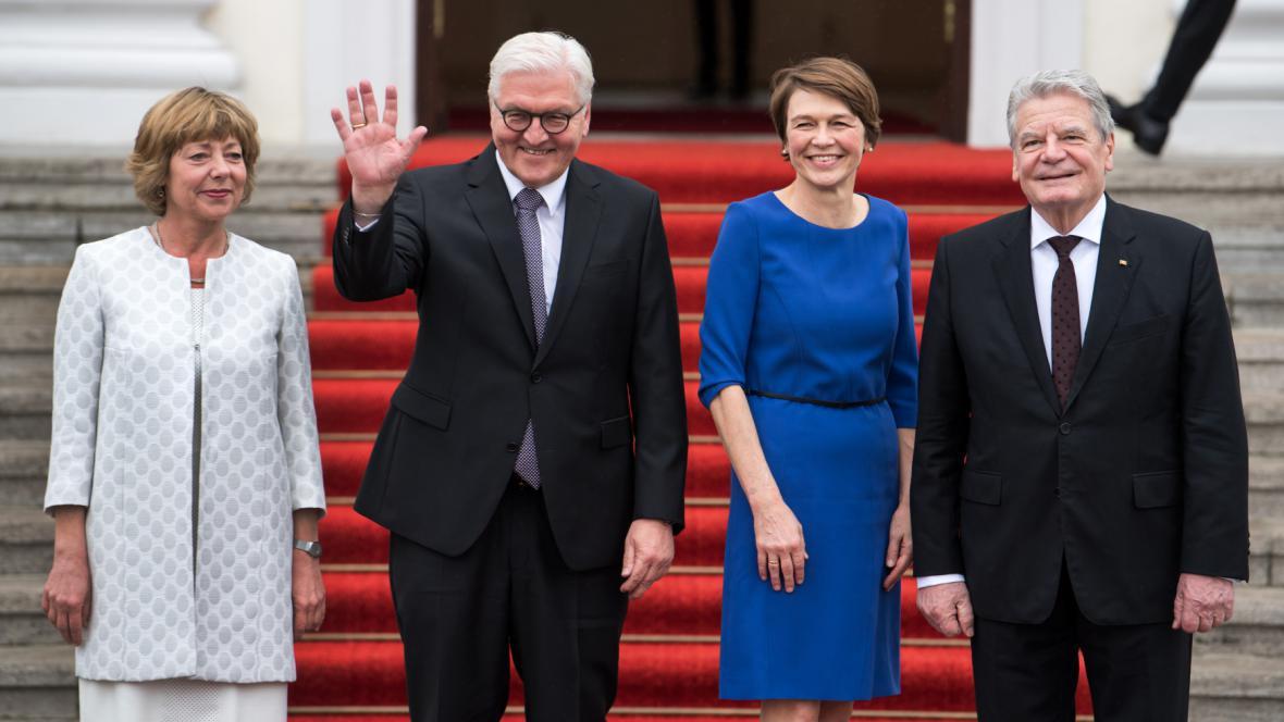 Frank-Walter Steinmeier a Joachim Gauck