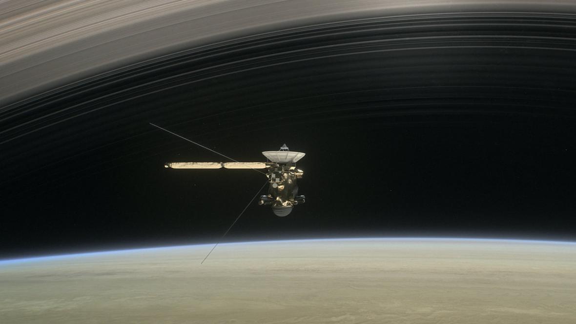 Cassini u Saturnu