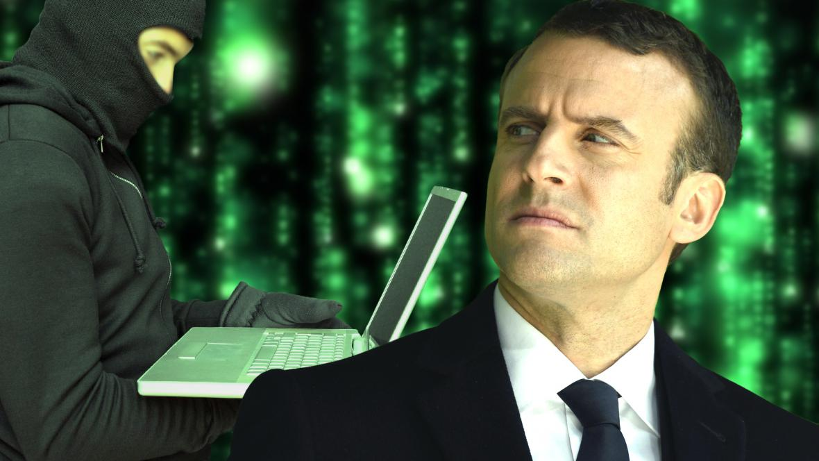 Macron a hacker