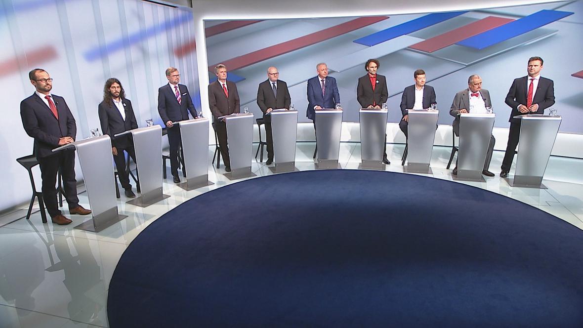 Předvolební debata o stavu demokracie v Česku