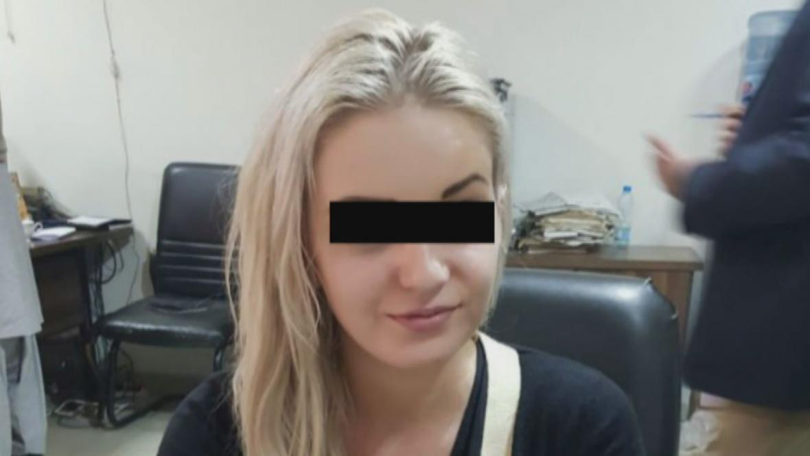 Češka zadržená v Pákistánu s drogami