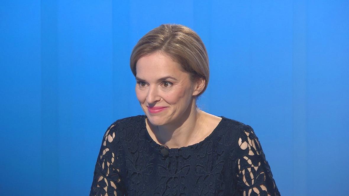 Moderátorka Světlana Witowská