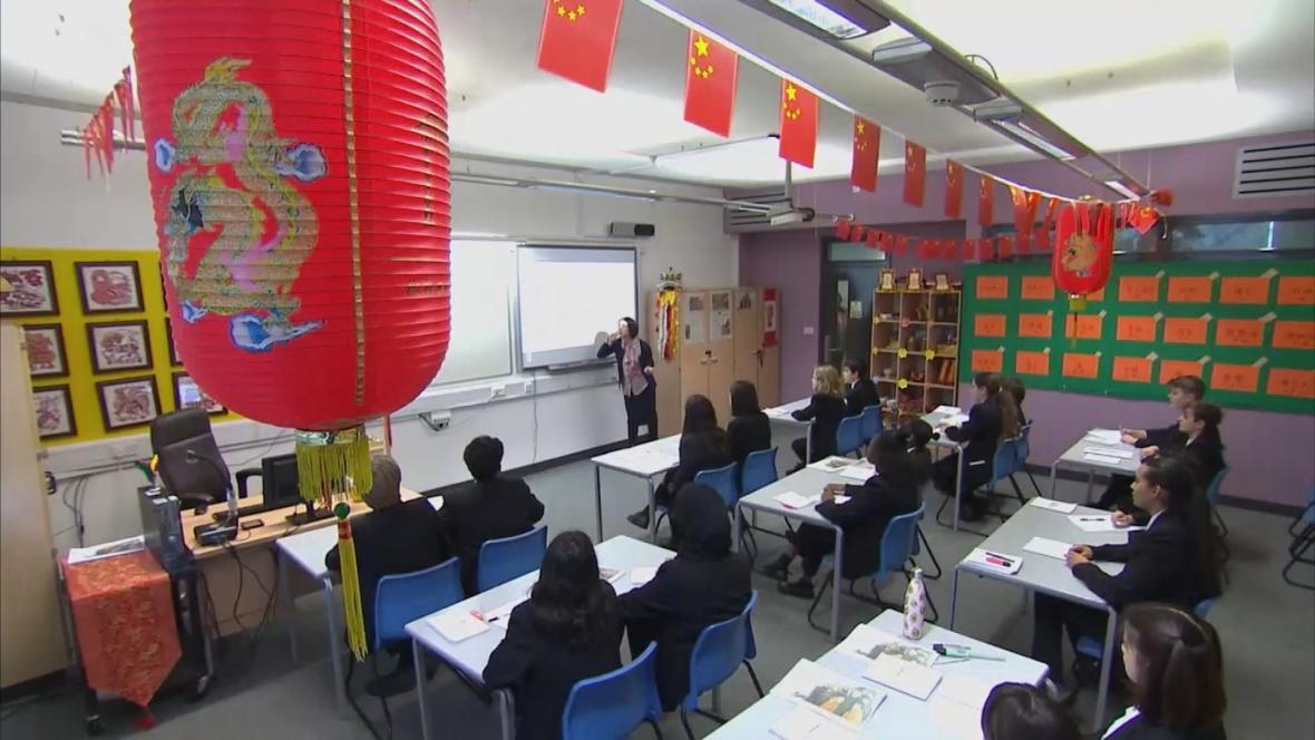 Výuka čínštiny v Londýně