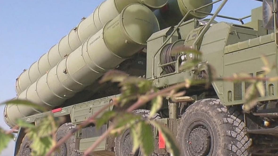 Ruský protiraketový systém v Sýrii
