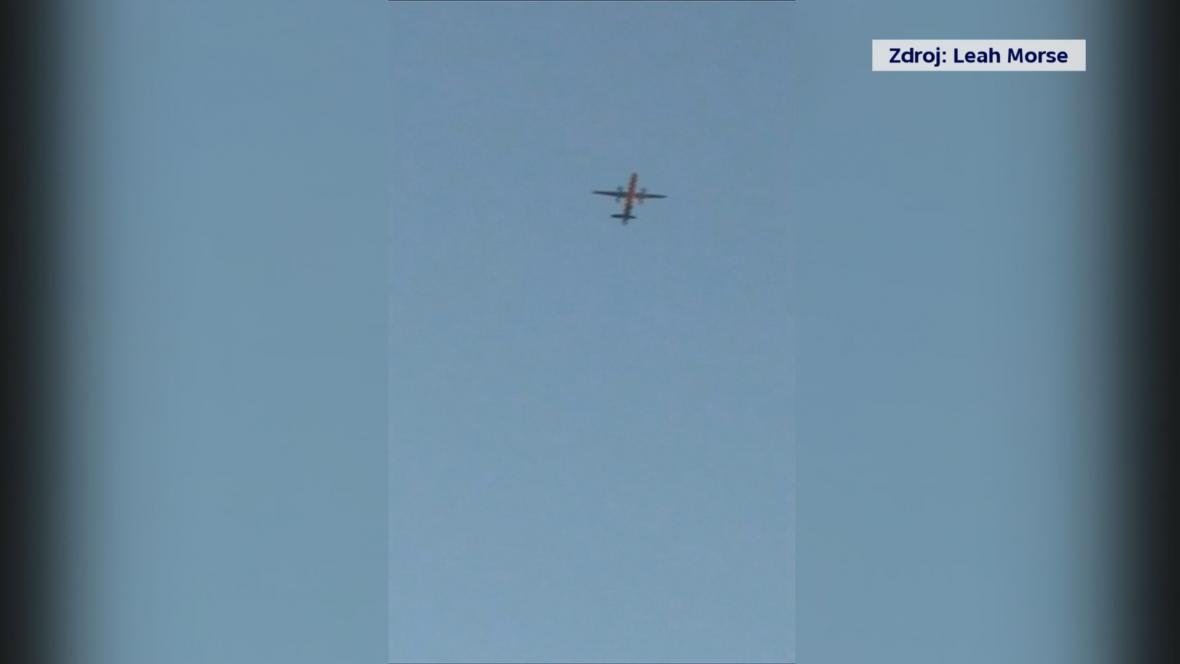 Zaměstnanec letiště v Seattlu ukradl letadlo