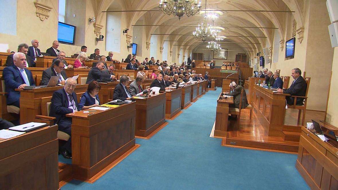 Sociální demokraté na podzim obhajují post předsedy horní komory