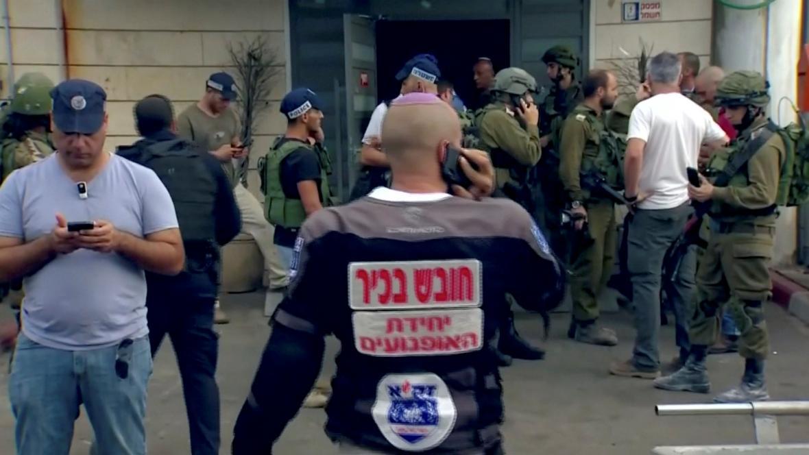 Zásah po útoku na Západním břehu