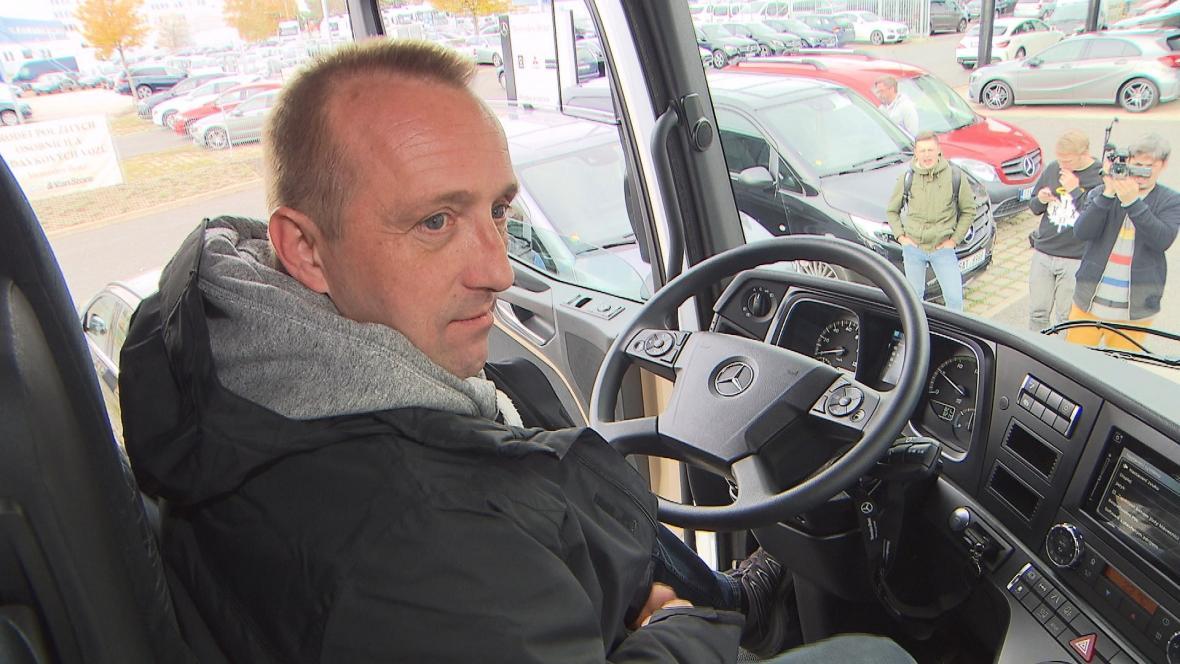 Řidič Martin Kučera