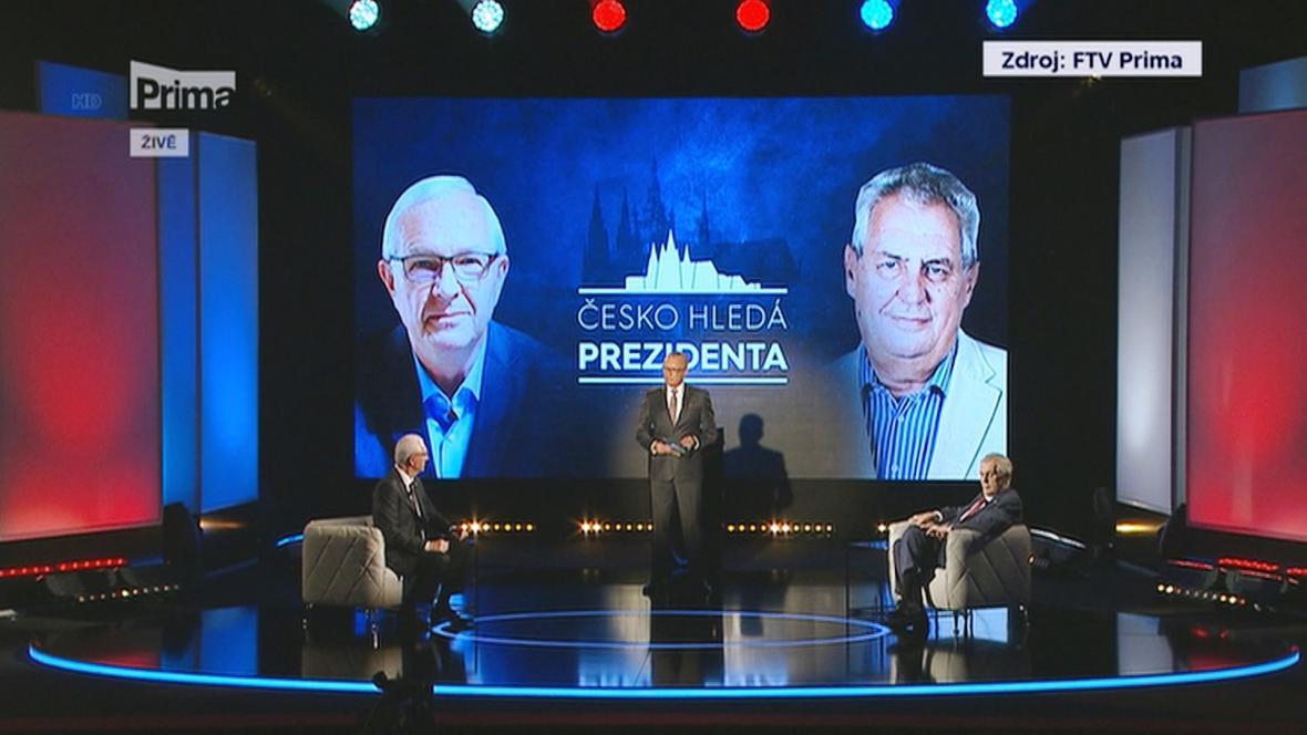 Předvolební debata v televizi Prima