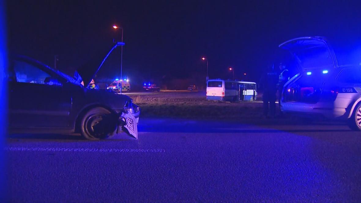 Nehoda u Dražkovic