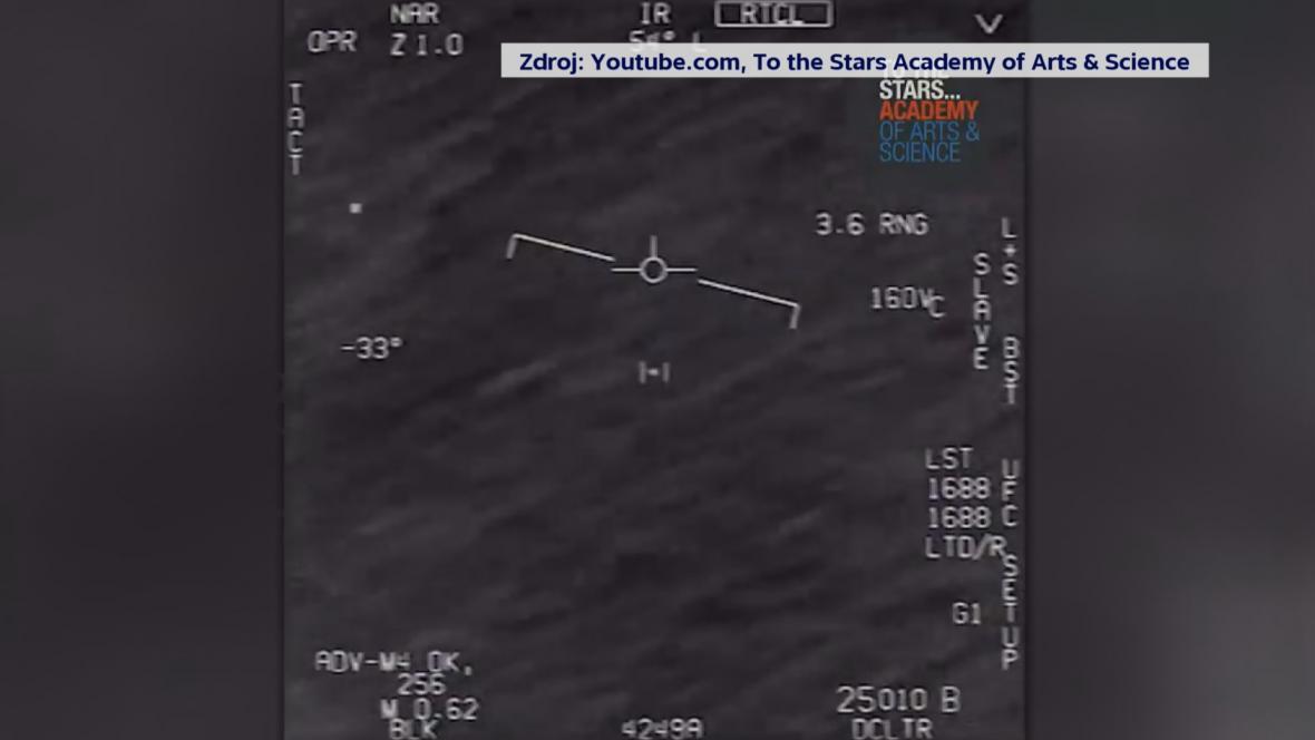Záběry neidentifikovaných vzdušných jevů
