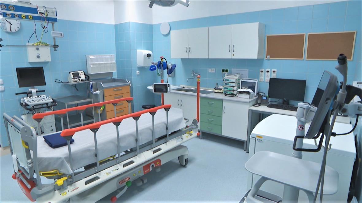 Urgentní příjem pelhřimovské nemocnice