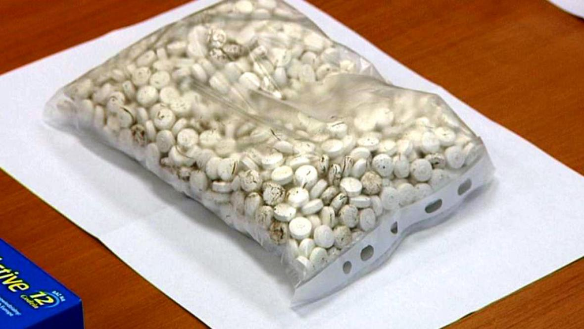 Pašované léky s pseudoefedrinem