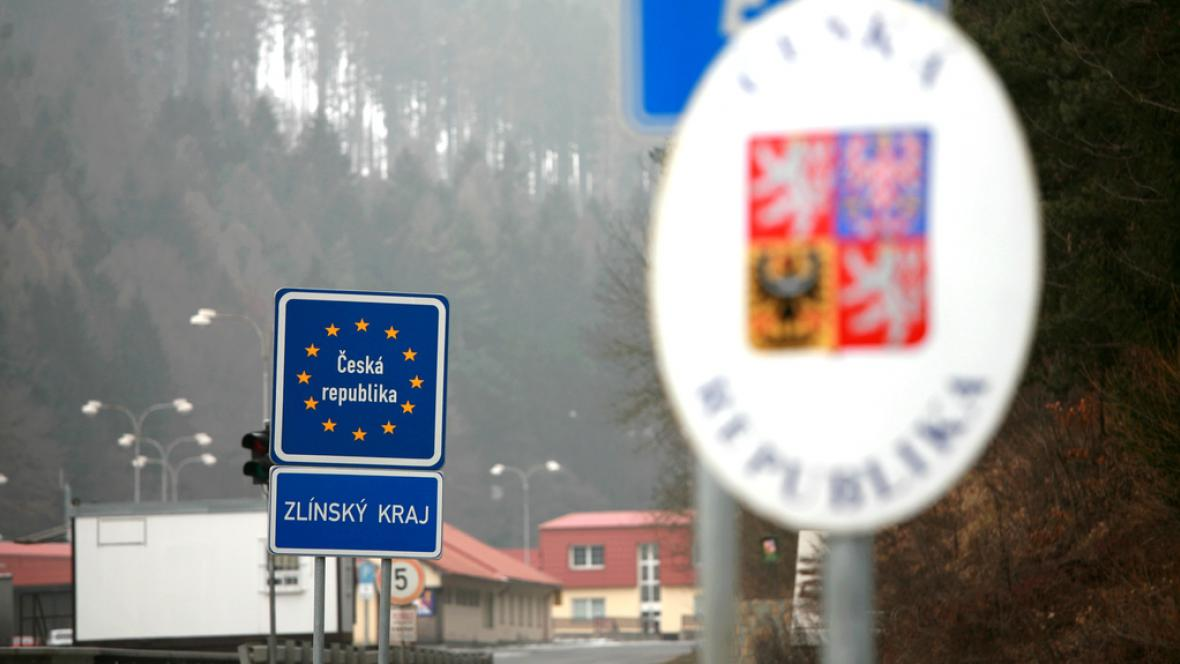 Vyznačení státních hranic na východě ČR
