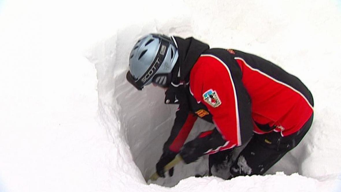 Hledání v lavině