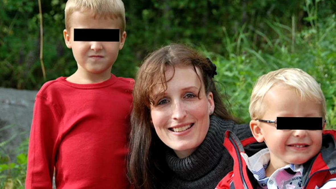 Eva Michaláková se svými dětmi