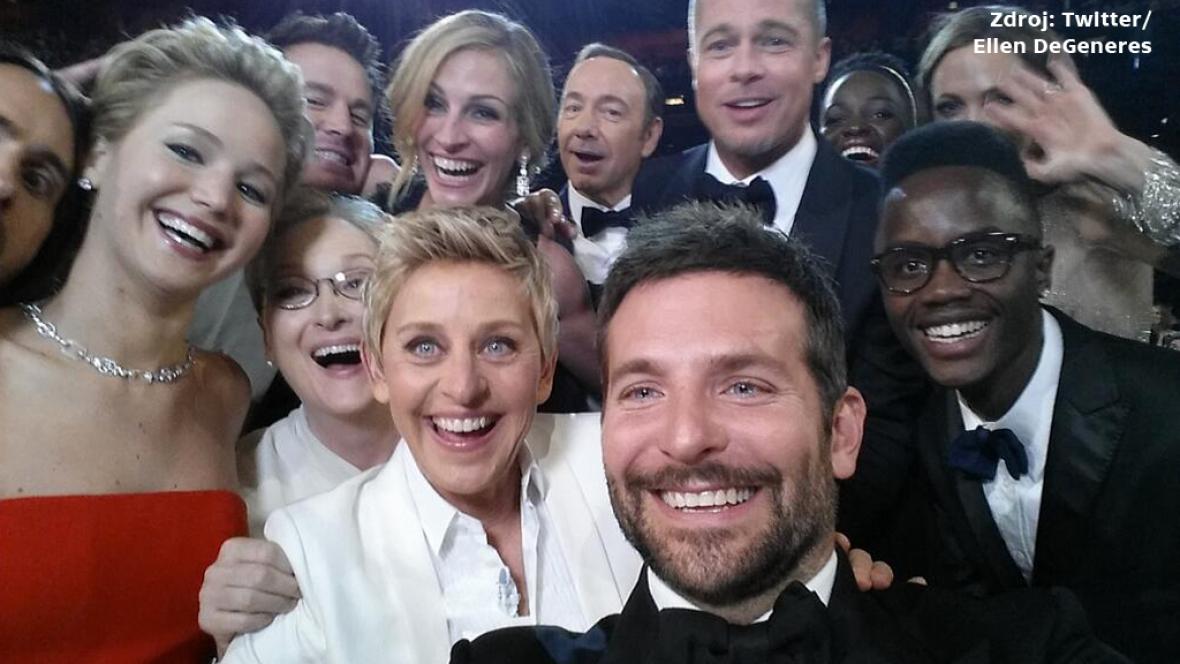 Selfie z předávání Oscarů