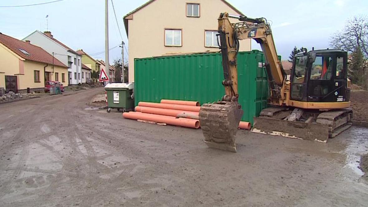 Výstavba v obci