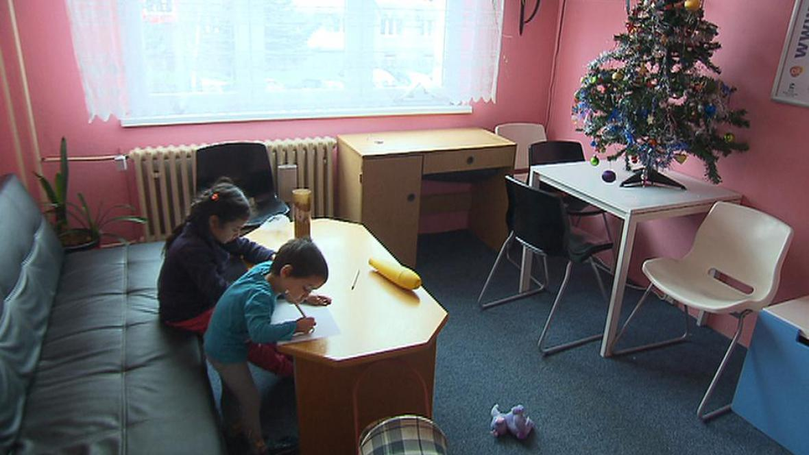 Azylový dům v severočeském Jirkově