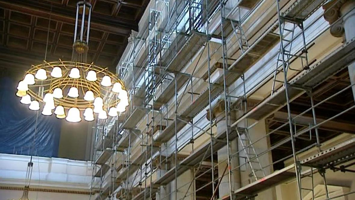 Opravy ostravské katedrály