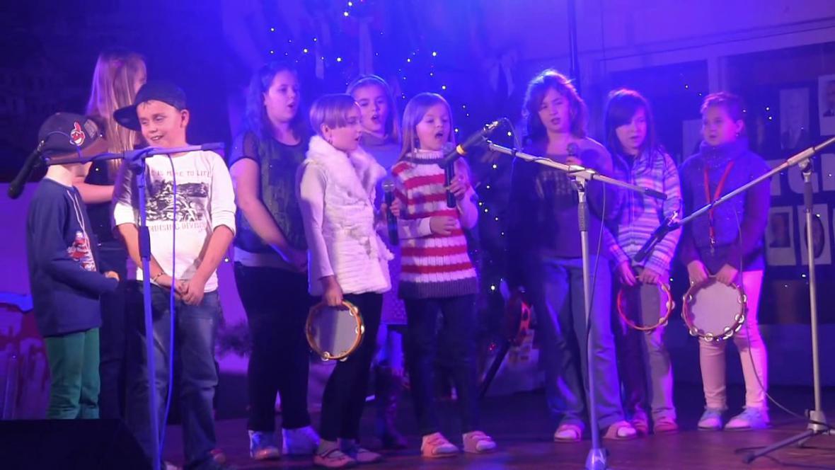Vánoční akademie na ZŠ v Borohrádku