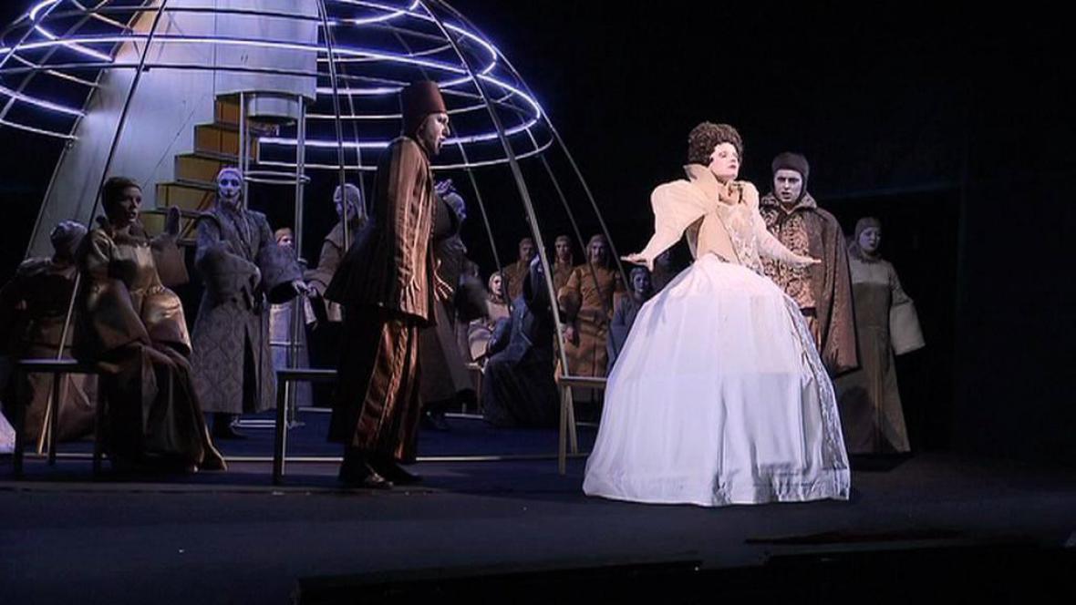Ostravská premiéra opery Marie Stuartovna