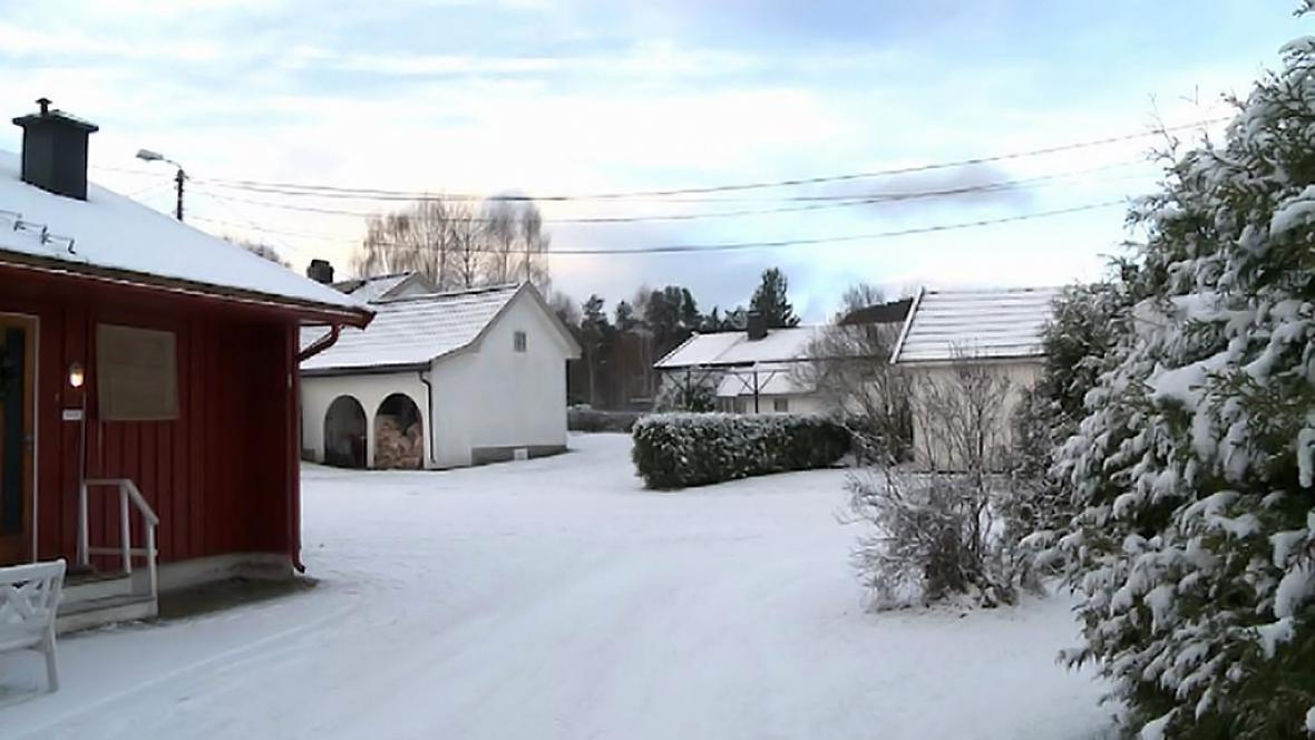 Městečko Steinberg, kde žila rodina Michalákových