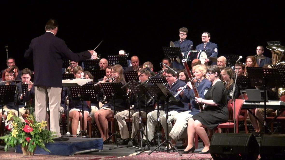 Vánoční koncert Městské hudby Františka Kmocha