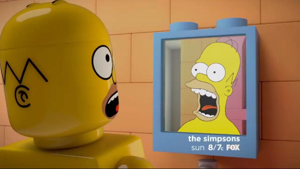 Epizoda Simpsonových z lega
