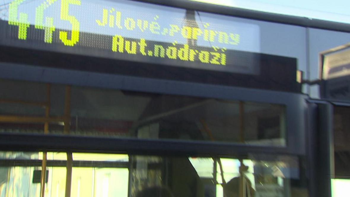 Autobusová doprava v Ústeckém kraji