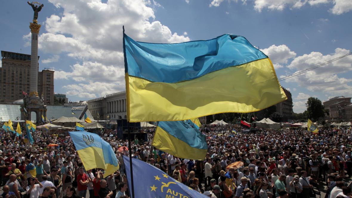 Kyjevský Majdan v době vyhrocených vášní