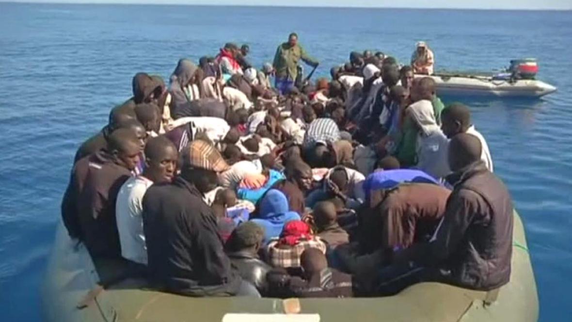 Uprchlíci u evropských břehů