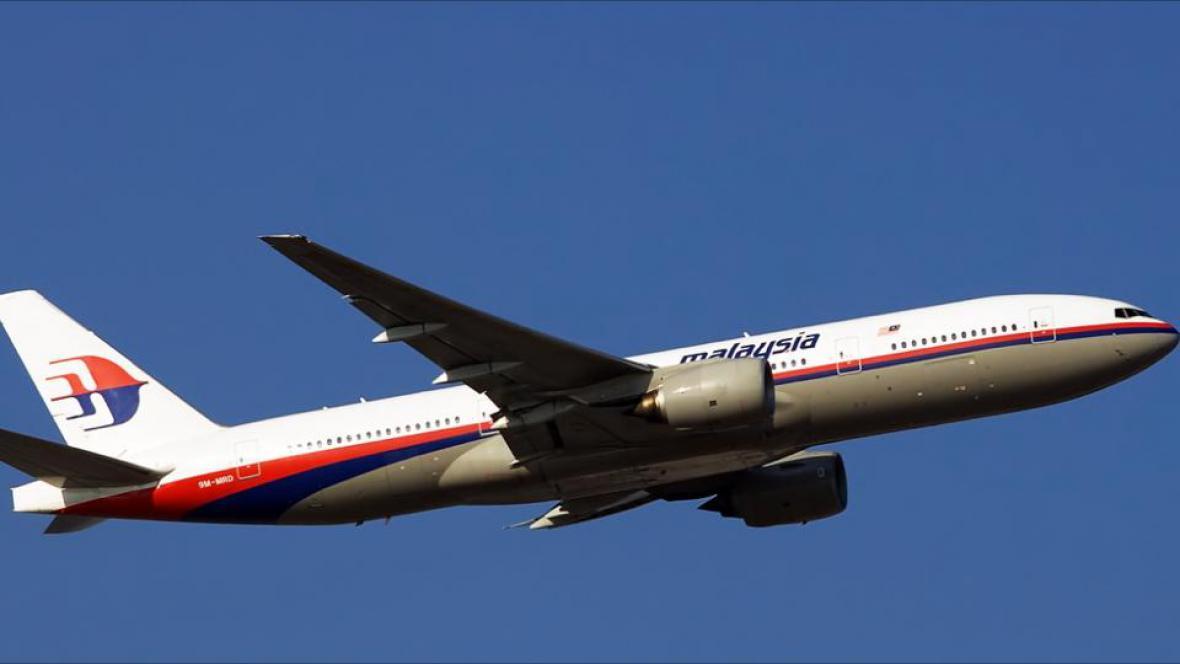 Boeing 777 sestřelený na Ukrajině