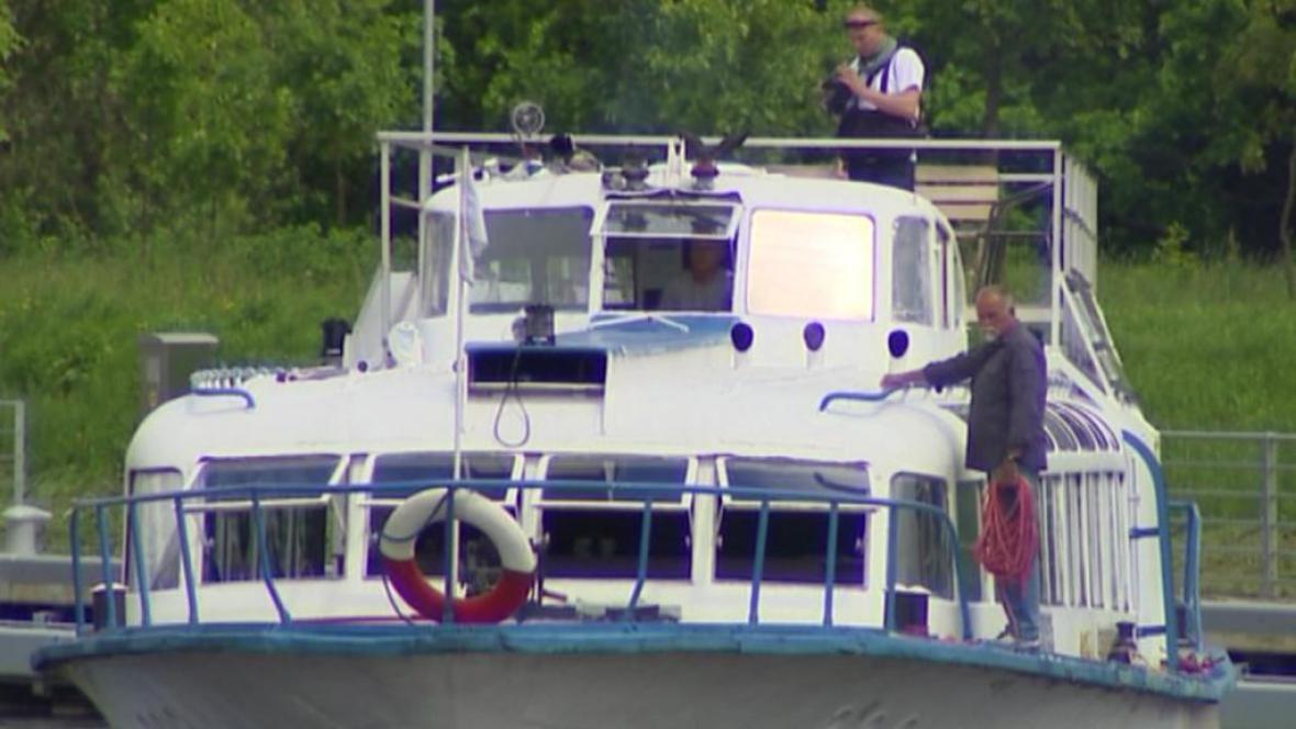 Lodní doprava na Vltavě
