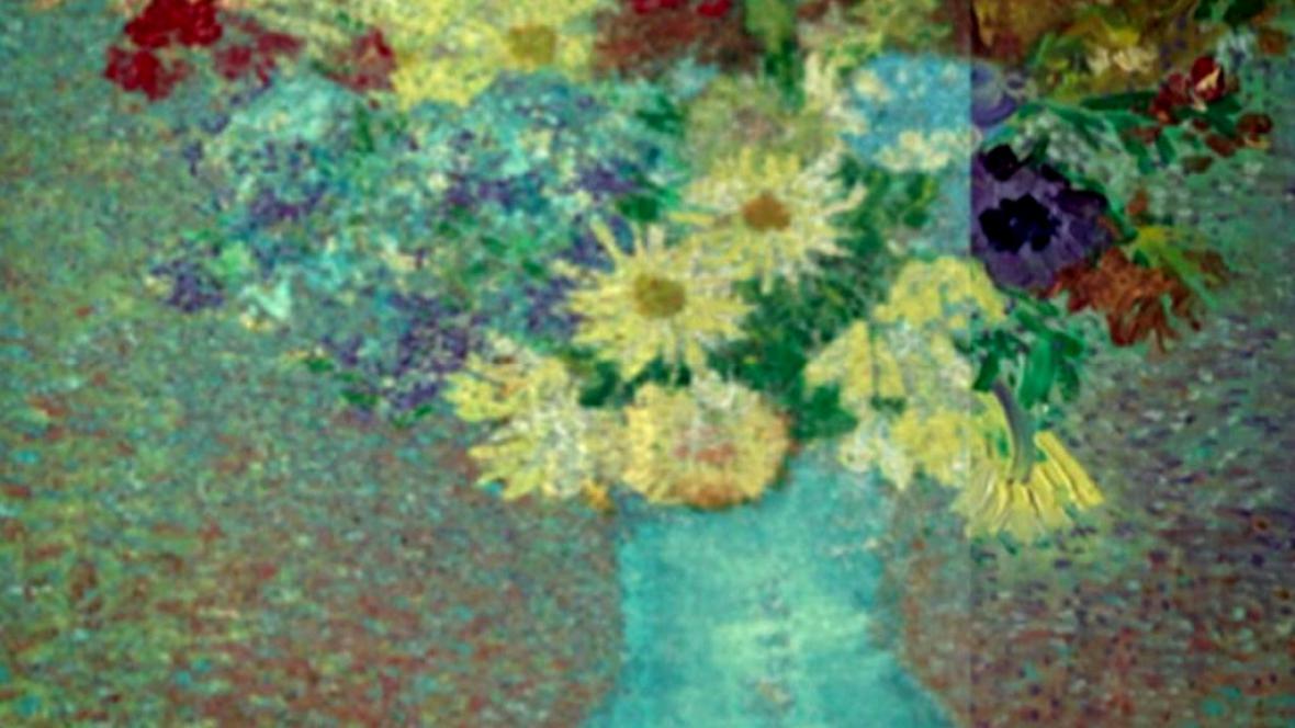 Odkrývání původních barev na obraze Van Gogha