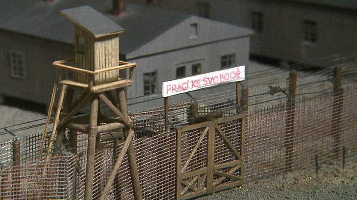 Model pracovního tábora Jáchymov