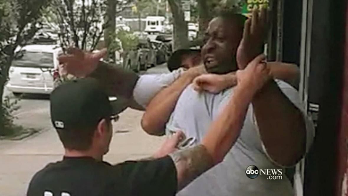 Zatýkání Erica Garnera