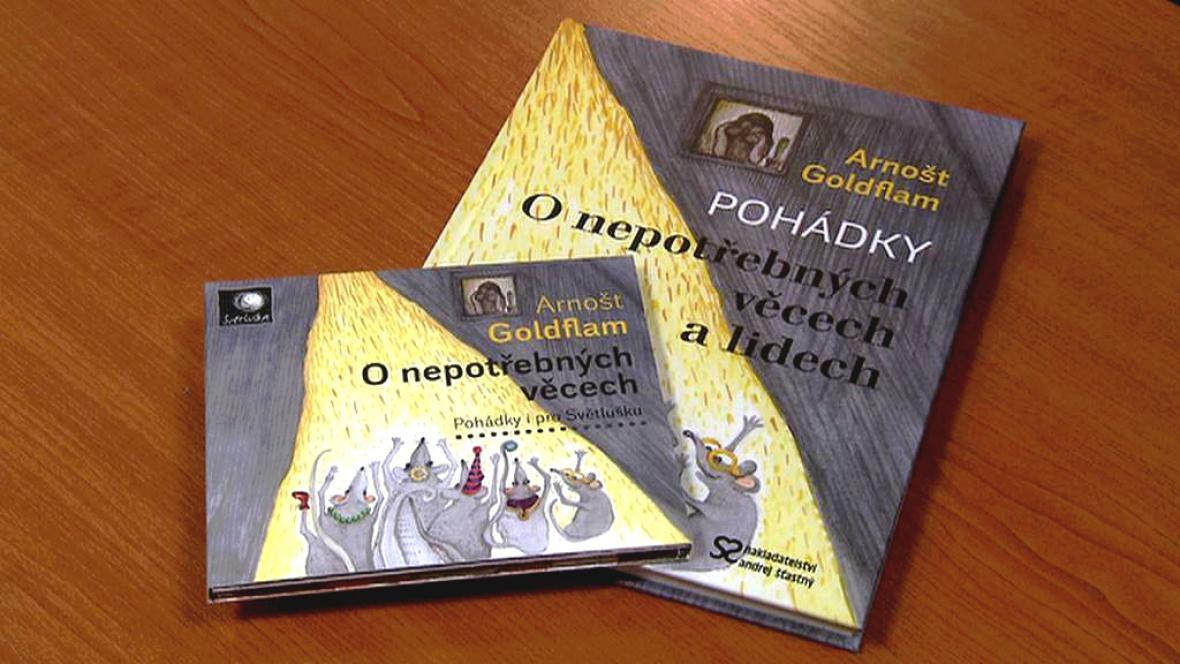 Kniha a audiokniha pohádek O nepotřebných věcech (a lidech)