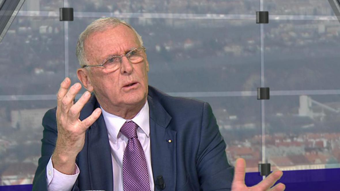 Rudolf Haňka, emeritní profesor Univerzity v Cambridge