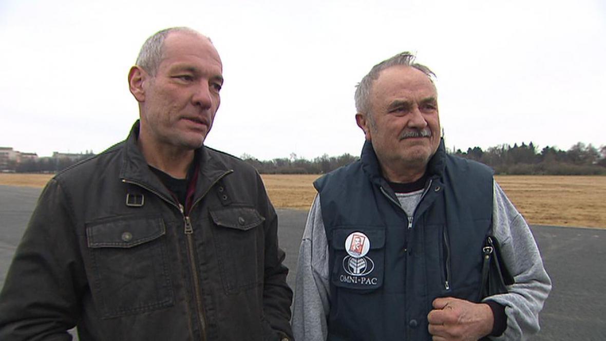 Zdeněk Jasanský a Jaroslav Lampar