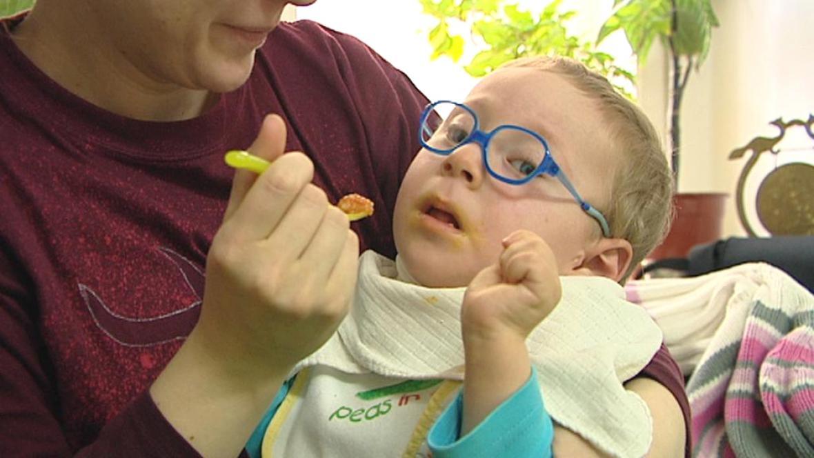Handicapované děti