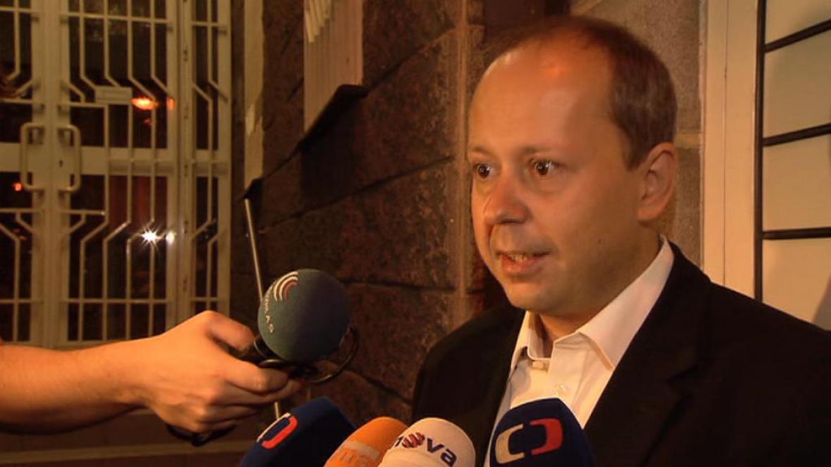 Marek Šnajdr po propuštění