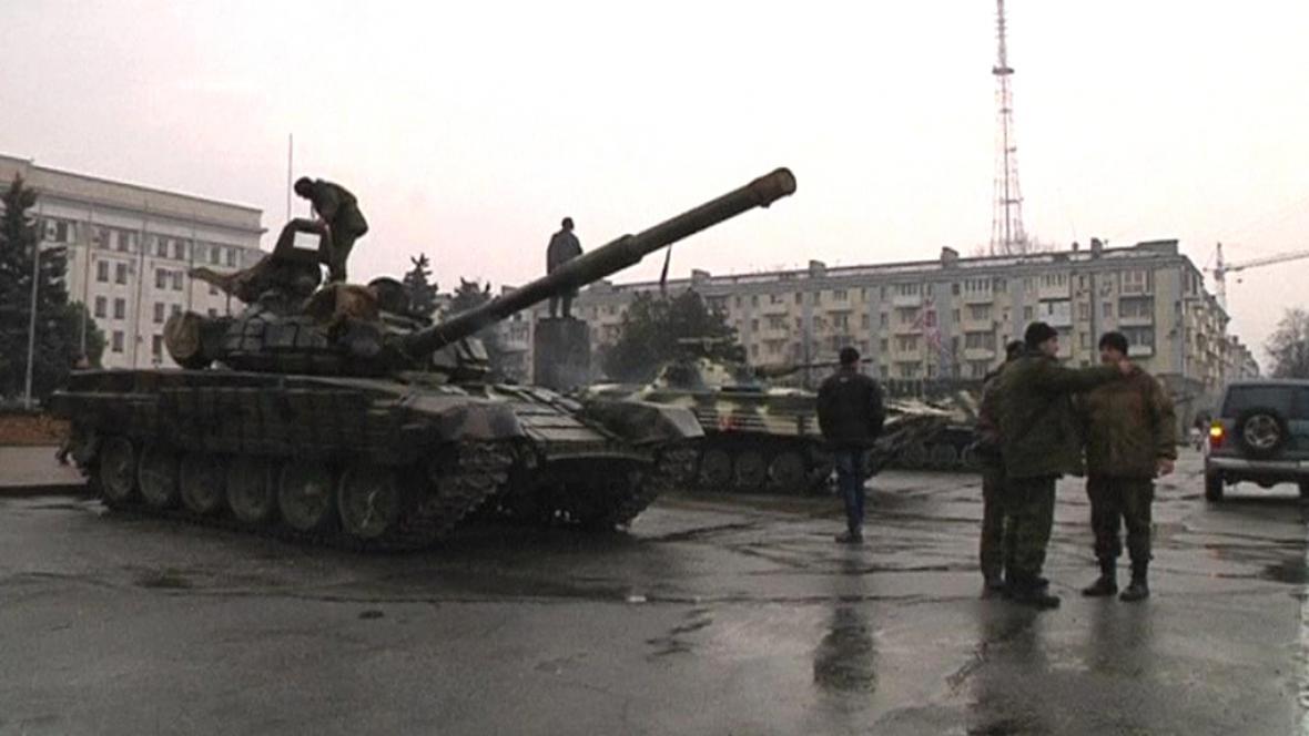 Na Ukrajině se dál bojuje