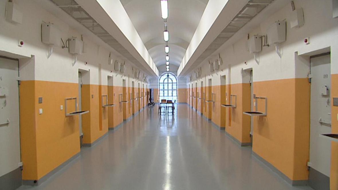 Vazební část věznice Pankrác