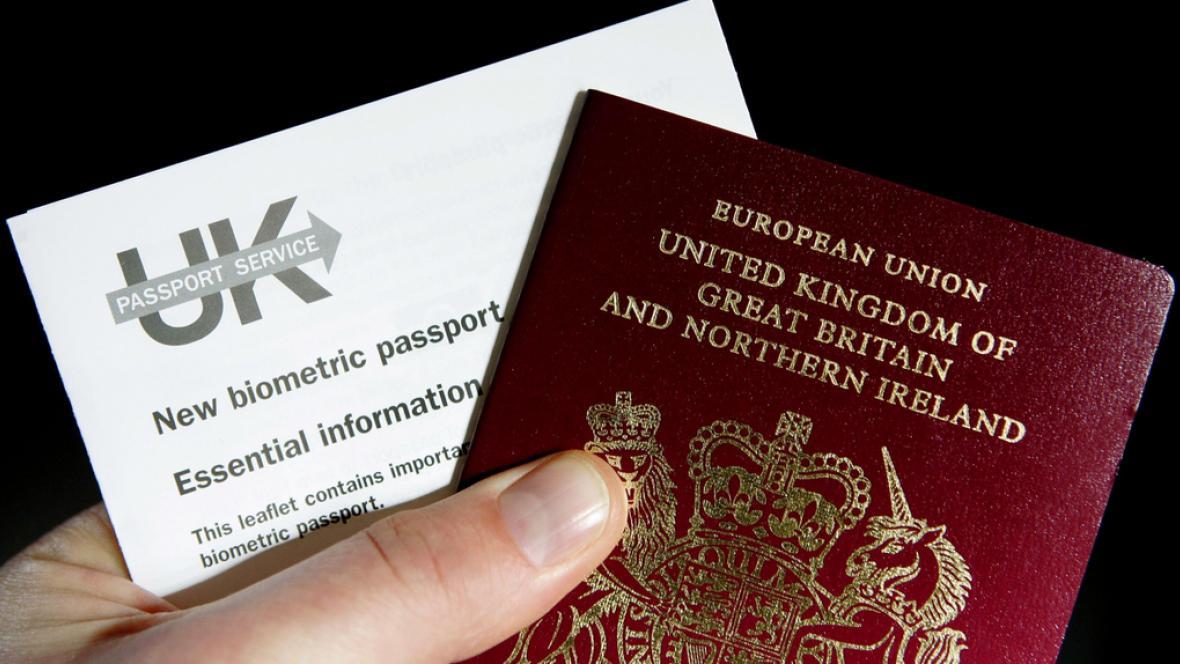 Britské pasy