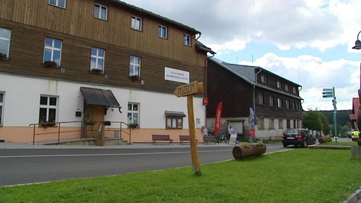 Budova bývalé roty pohraniční stráže