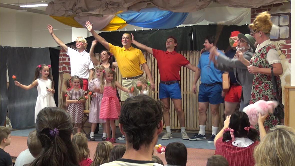Divadelní představení ve Fryštáku